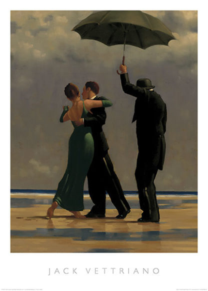 V464 - Vettriano, Jack - Dancer in Emerald